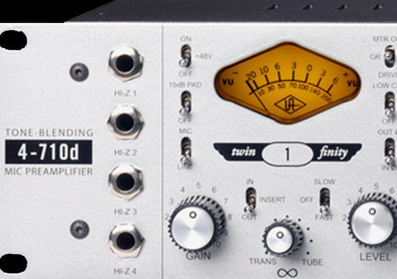 These preamps are fantastic. Each channel has built in compression, as well as limiting. I like that you can dial in full tube, full solid state, or anywhere in between.